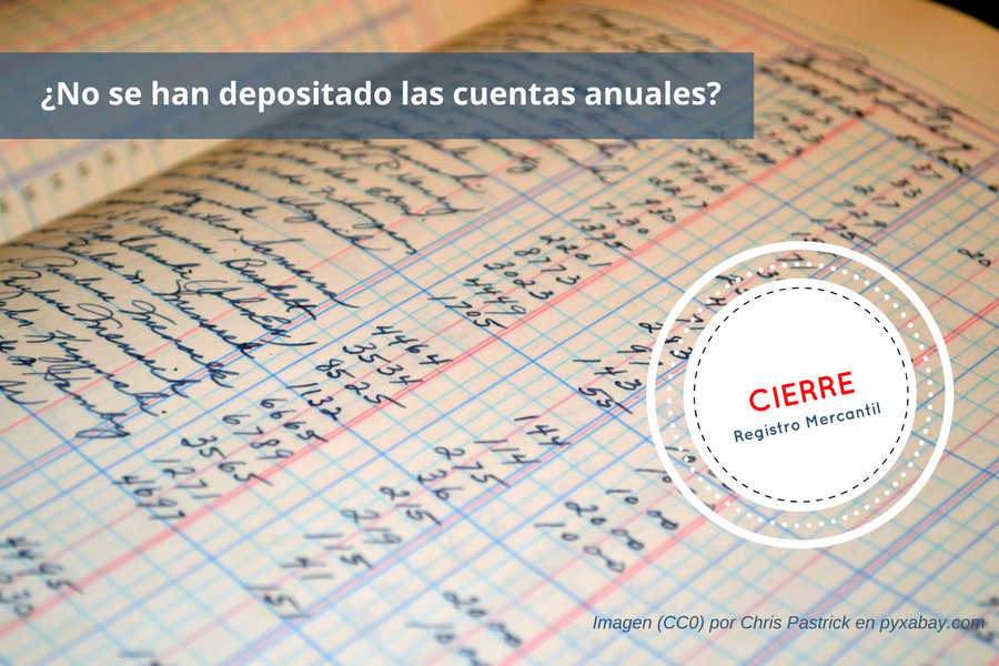 Cierre Registro Mercantil