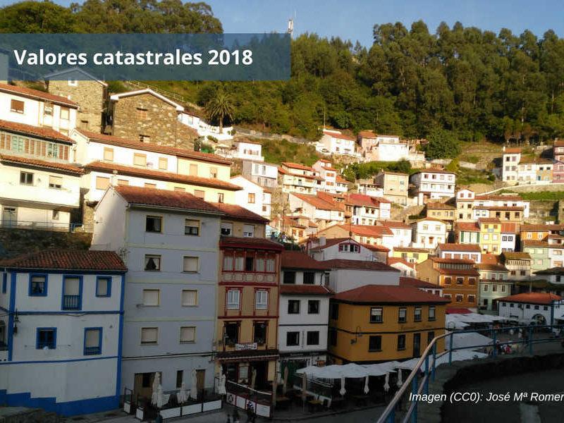 Valores catastrales 2018