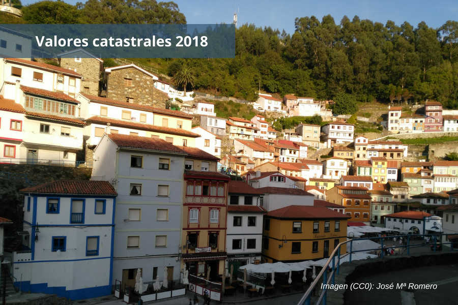 Valores catastrales 2018