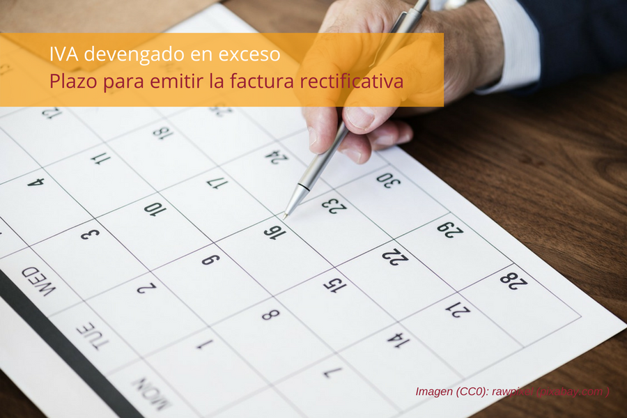 Facturas rectificativas