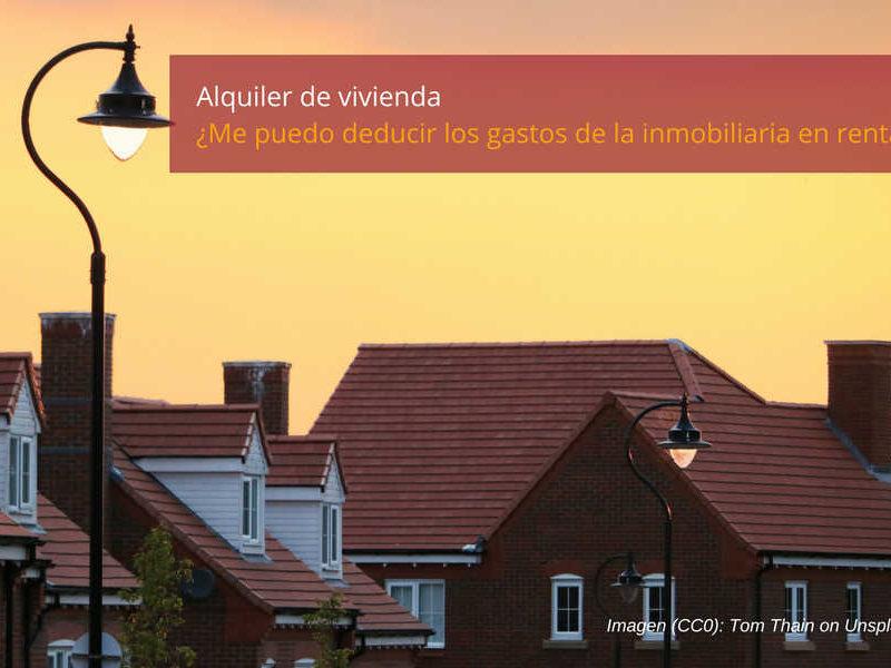 alquiler de vivienda en renta