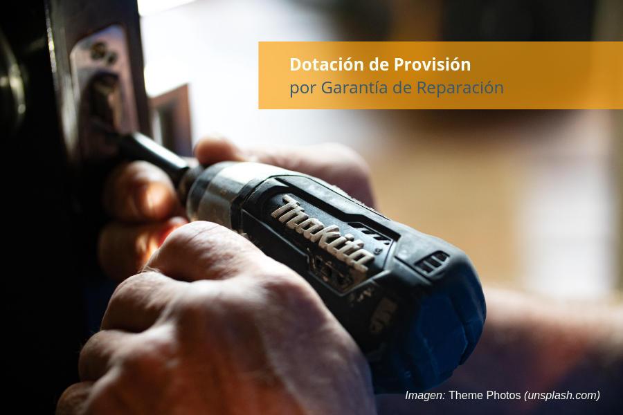 Provisión Garantía Reparación