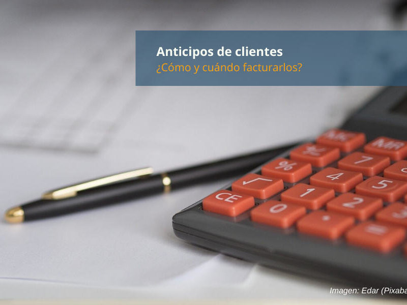 Facturar Anticipos Clientes