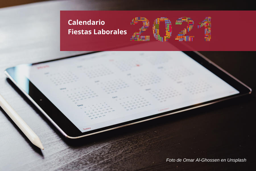 Fiestas laborales 2021
