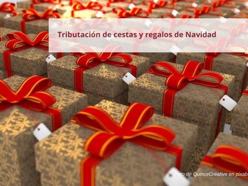 Tributación cesta de Navidad