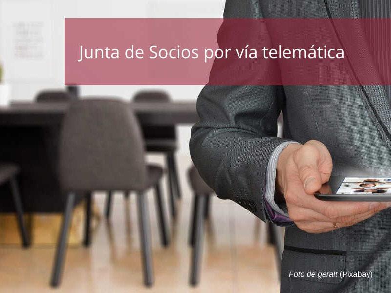Junta Socios Telemática